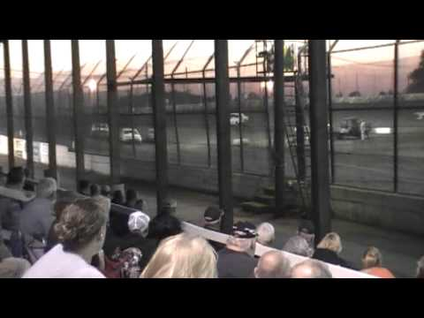 Kankakee County Speedway Street Stock Heat Race 8/23/13_video/RGB