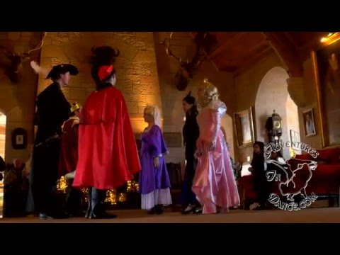 How to Dance Greensleeves Medieval Court dance for Sleeping Beauty,