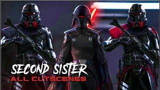 Star Wars Jedi : Fallen Order - Second Sister (Trilla) All Cutscenes