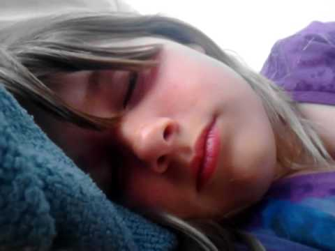 Girl while sleeping checking hot video from YouTube · Duration:  30 seconds