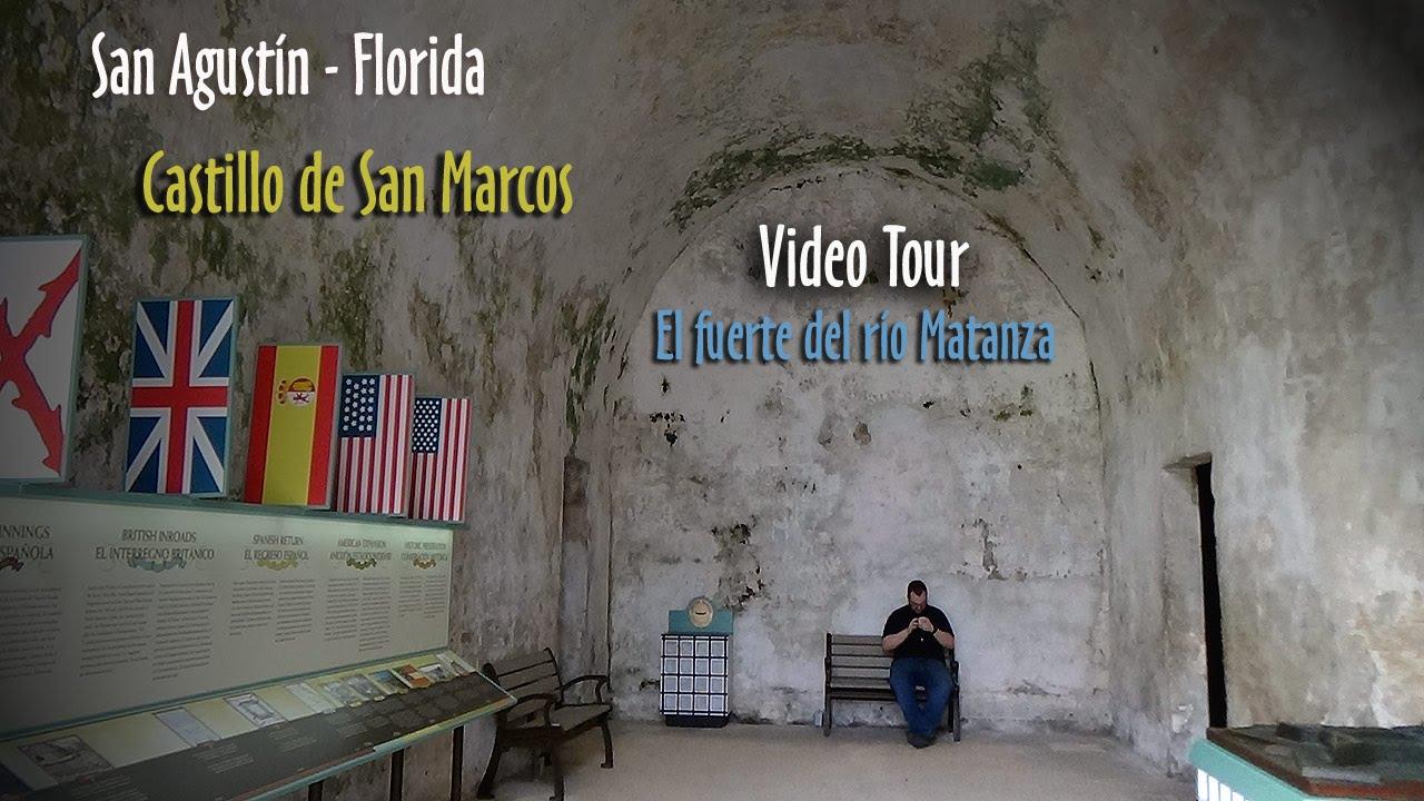 San Agustín - Castillo de San Marcos - Florida - EEUU - YouTube