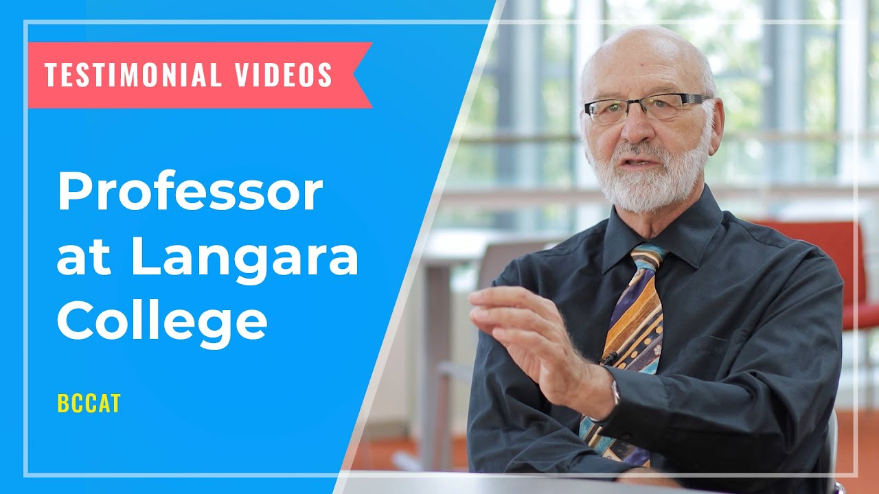 TESTIMONIALS: Professor at Langara College