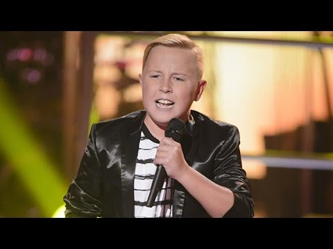 Robbie sings Hey, Soul Sister | The Voice Kids Australia 2014