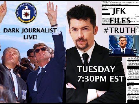 DARK JOURNALIST & ALEXANDRA BRUCE LIVE! JFK ASSASSINATION RECORDS: CIA UFO SECRET FILES REDACTED!
