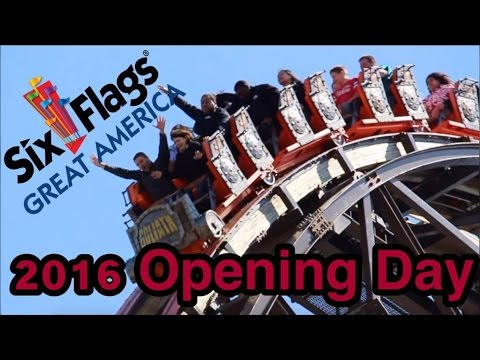 Opening Day at Six Flags Great America