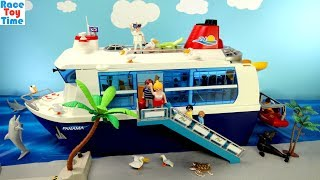 Playmobil Cruise Ship Build and Play Playset with Sea Animals Fun Toys For Kids