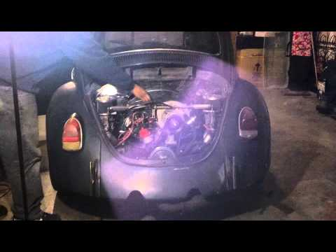 1969 vw bug with new 1800cc dual carbs engine
