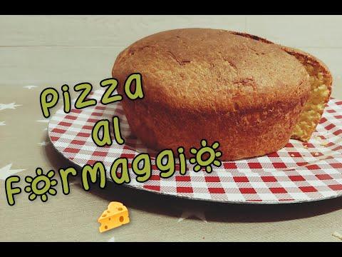 Pizza Pasquale al formaggio con Monsieur Cuisine Connect e Plus