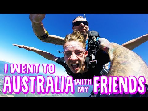I WENT TO AUSTRALIA WITH MY FRIENDS | 2017