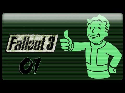 Fallout 3 - Прохождение Pt1 - Познакомьтесь с Пепезито!