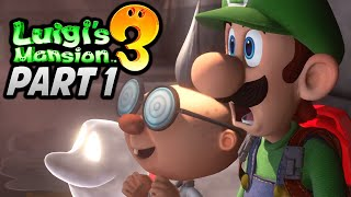 "[🔴LIVE] ""I SKIPPED CLASS FOR THIS!"" - Luigi's Mansion 3 (Story Mode) Playthrough - Part 1"