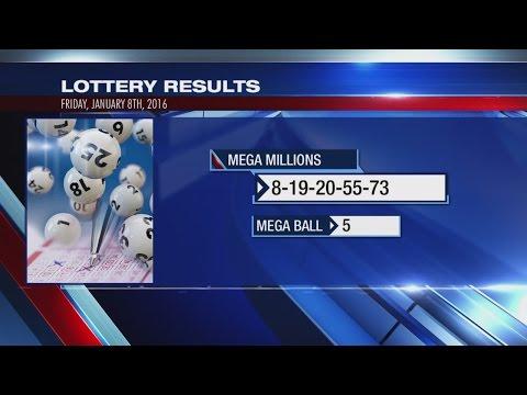 Winning numbers for Mega Millions $540M jackpot