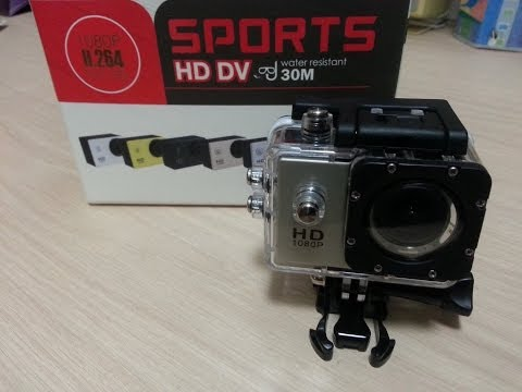 SJ4000 HD Action Camera - Unboxing and review
