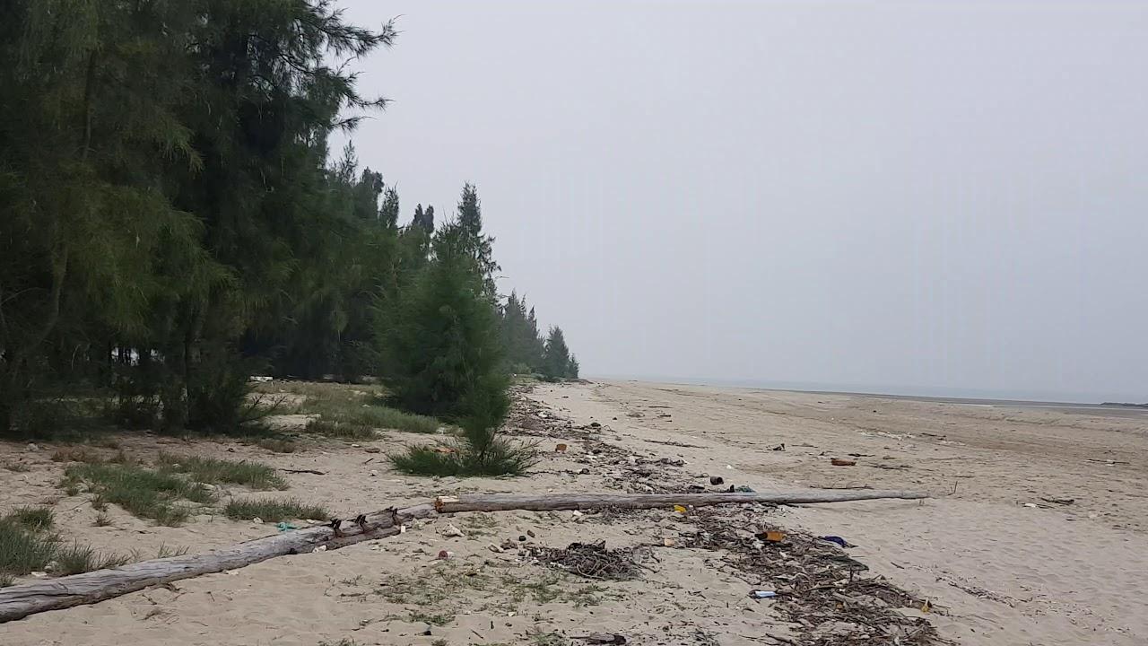Cảnh Hoang Sơ Tại Bãi Biển Trà Cổ TP Móng Cái – Móng Cái Travel