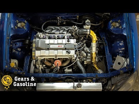 Finishing the SVT Engine Swap in my Ford Escort