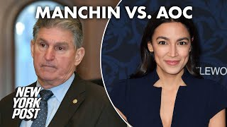 Sen. Joe Manchin knocks AOC amid ongoing feud | New York Post