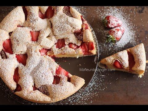 gâteau-moelleux-à-la-fraise-facile-!