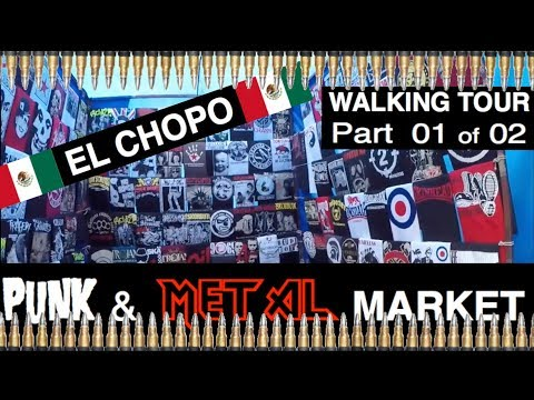 Visiting the legendary El Chopo Punk and Heavy Metal Market @ CDMX, Mexico (Part 1 of 2)