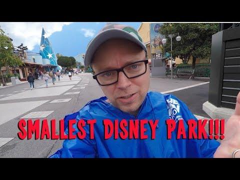 Walt Disney Studios, Paris - Smallest Disney Park in the Worrrrrld!!!