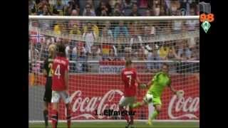 Nadine Angerer hält 2 Elfmeter gegen Norwegen (Frauen EM Finale 2013)