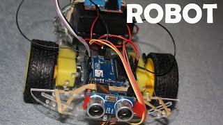 58. . Projekt Robot - sterownik L298N i omijanie przeszkód