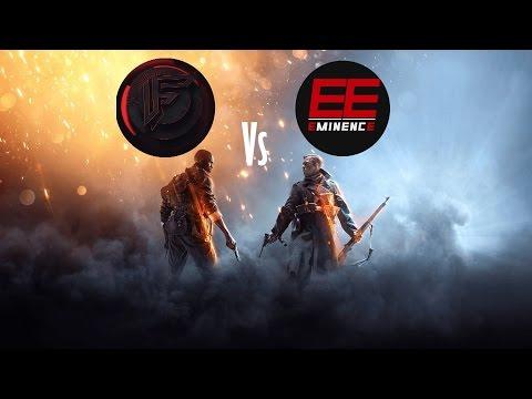 BF1 | FDA vs EE | Scrim CQ 12v12 tournoi ESB | PS4