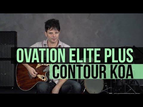 Ovation Guitars Elite Plus Contour Koa