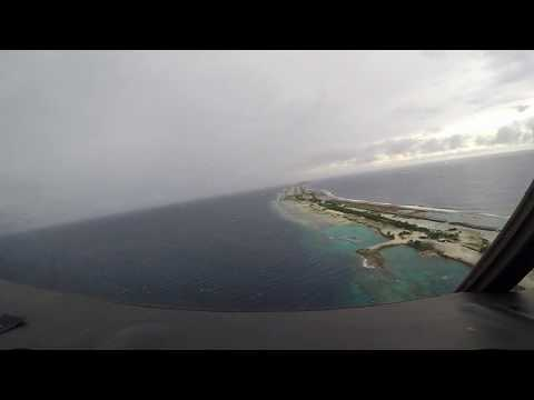 Approach and Landing at Majuro International Airport