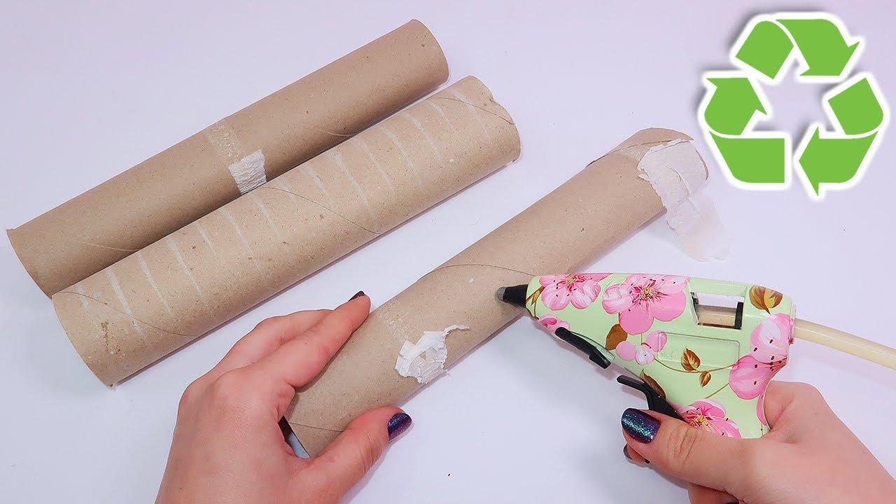 5 Diys O Ideas De Reciclaje Con Rollos De Papel Higienico O