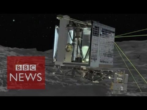 Philae comet lander wakes up - BBC News