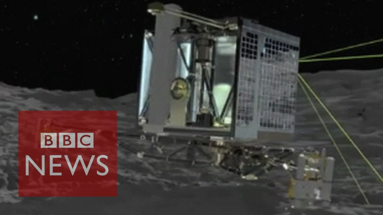 Lander de cometa de Philae despierta – BBC News