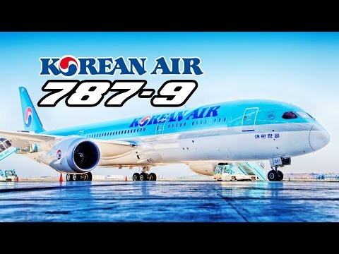 KOREAN AIR Boeing 787-9 CABIN TOUR | Korean Air took delivery of its FIRST 787. | 대한항공 B787-9 기내
