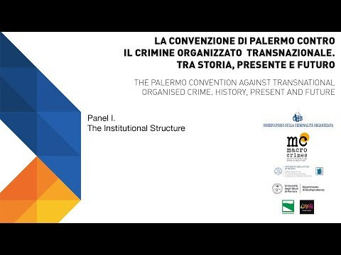The Palermo convention against transnational organized crime 2003-2018 | Panel I