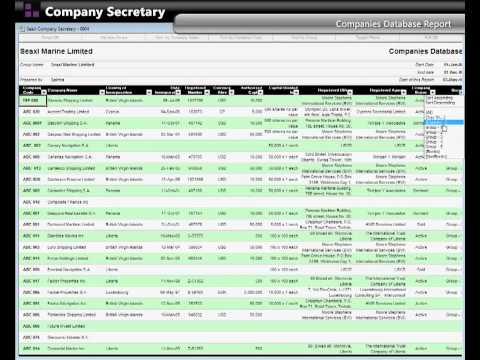 Company Secretary - Seaxl Marine Software