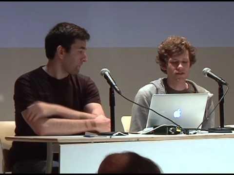 Seven on Seven 2011: Ricardo Cabello (mr. doob) & Chris Poole (moot)