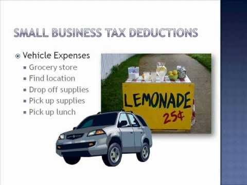 Small Business Tax Deductions Entrepreneur - Tax Training Series