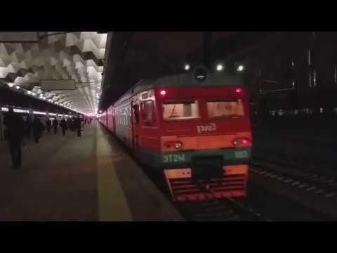 ЭТ2М-103 - Отправление с Московского вокзала