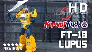 FansToys FT-18 Lupus Third Party Transformers Masterpiece Weirdwolf