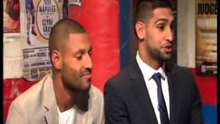 Amir Khan & Kell Brook on (Ringside) shame Hatton wasn't there