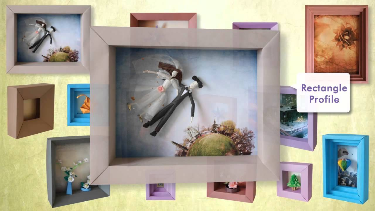 Origami Shadowbox Frames (book preview) - YouTube