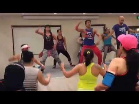 Zumba Masterclass Kuwait, Radisson Blu Hotel ,Group of The Gym Team