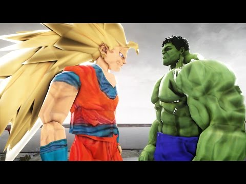 Son Goku VS The Incredible Hulk  - EPIC BATTLE