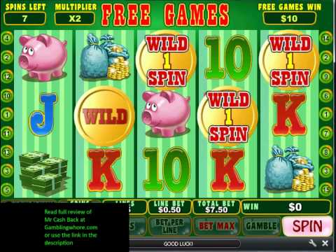 Mr Slot Free Spins