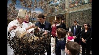 Lễ Chúa chịu Phép Rửa tại Vatican, 07.01.2018: Bạn có nhớ ngày bạn chịu Phép Rửa?
