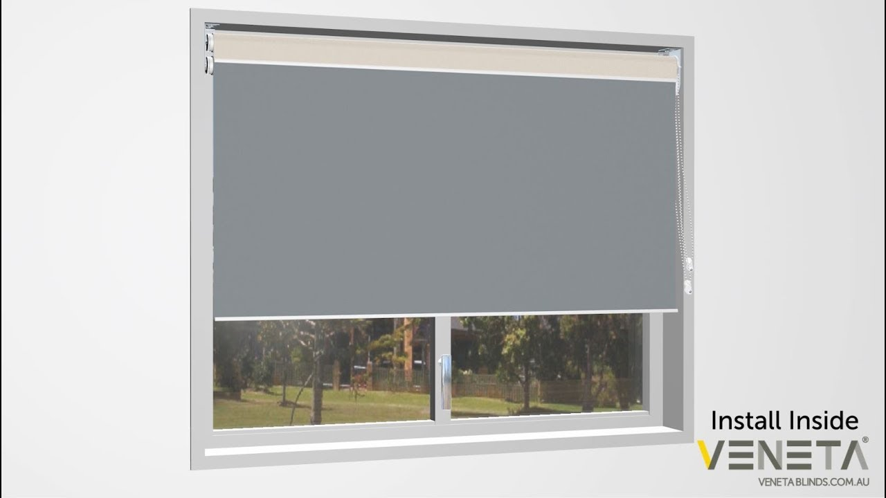 How To Install A Day Night Roller Blind Inside You