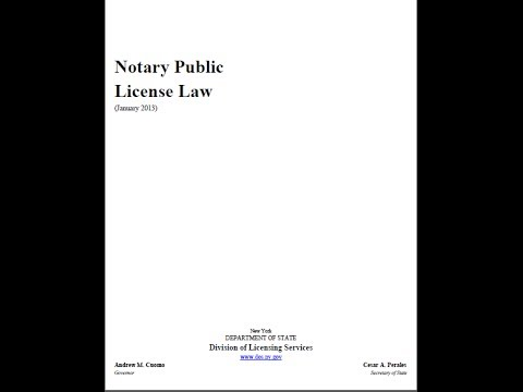 Notary Public Must Officate Upon Request