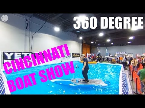 360 DEGREE - 2018 Cincinnati Travel Sports and Boat Show Interactive Video