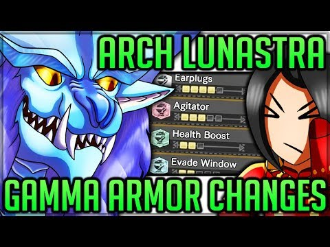 Arch Tempered Lunastra is Disappointing + Armor Review + Fight Changes - Monster Hunter World! #mhw