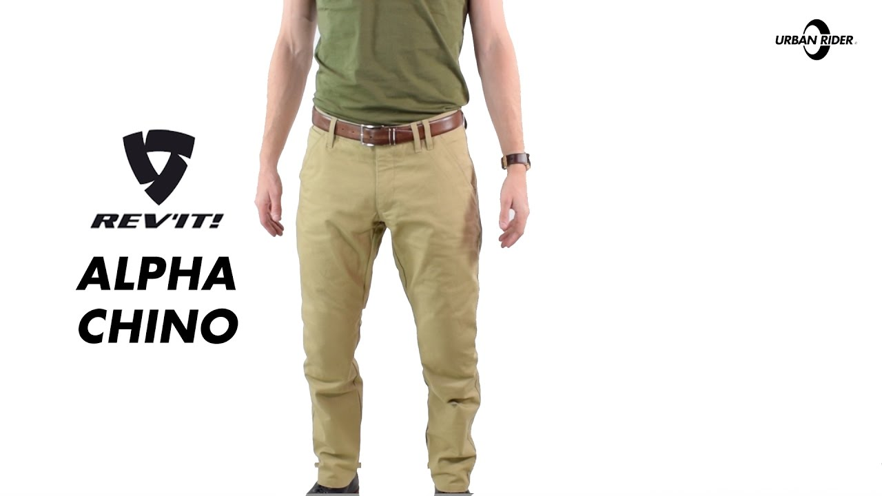 Rev It Alpha Chino Motorcycle Trousers Review Urban