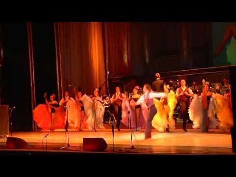 Cancan of VIVAT OPERETTA  Lviv Ballet Ukraine
